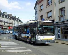 Irisbus Citélis 12 n°22599 (ChristopherSNCF56) Tags: ctrl ctm sp11 hennebont citelis irisbus 12 bus transport urbains