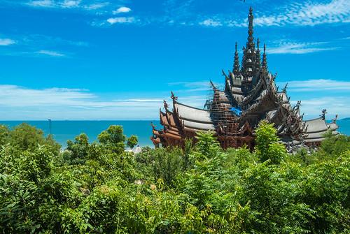 Sanctuary of Truth, Pattaya, Tailand.