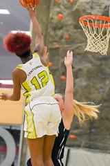 Women's Basketball vs. Niagara-30 (centennial_colts) Tags: green scream toronto ontario ocaa ocaacentennialcolts occcr basketball womens varsity ova preseason college colts centennialcolts