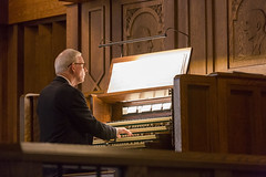 John Rose's 40 Year Celebration (trincoll) Tags: trinitycollege hartford connecticut chapel joannebergersweeney president music choir choirdirector organist
