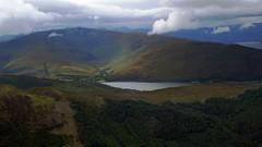 Highlands Of Scotland (Daphne-8) Tags: bennevis scotland highlands schotland view aussicht mountains bergen clouds wolken montagnes montanas nubes nuages landscape landschaft loch lake see lago