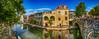 """De Poort"" (JoCo Knoop) Tags: utrecht ledigerf depoort hdr photomerge panorama"