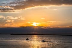 IJmuiden sunset (tribsa2) Tags: nederlandvandaag marculescueugendreamsoflightportal sunset sunrisesunset seaside sky seascape shoreline sea s