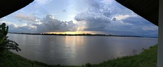 Sunset over Mekong 2017-8-8 1 (SierraSunrise) Tags: clouds mekong mekongriver nongkhai phonphisai reflections rivers skies sky storm sunset sunsets thailand water