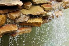 Fountain 07-01-17 (MelenaMe) Tags: serenecustardminiaturegolf waterfall water rock rocks stones drizzle cascade vinelandnj miniaturegolf golf