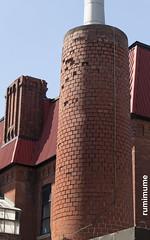 Smoke Stack (rumimume) Tags: potd rumimume 2017 niagara ontario canada photo canon 80d sigma disused red bricks building chimney