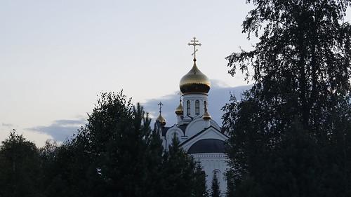 Храм Святой Троицы, Кемерово ©  Denis Podmaroyv