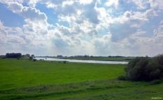 Landscape Forest (JaapCom) Tags: jaapcom landscape ijssel water clouds holland dutchnetherlands naturel nature