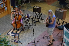 DSC_0011 (Emerald Chamber Players) Tags: lotus unfolding eugene oregon atrium 7222017