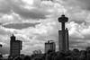 Niagara Falls 64753bw (kgvuk) Tags: niagarafalls skylontower fallsviewcasino canada
