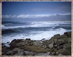 """Pointe de la Torche"" - Bretagne (JJ_REY) Tags: pointedelatorche océan atlantique artlantic fuji instantfilm peelapart colors polaroid 250 bretagne france"