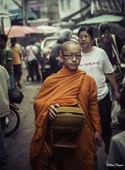 0S1A4958 (Steve Daggar) Tags: chiangmai thailand travel buddhist monk markets street candid asia