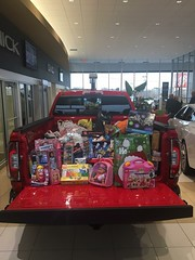 Fill Santa's Sleigh Toy Drive with Quality GMC