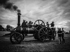 Tractor Boys and Girls (Siobhán Bermingham) Tags: meath festival threshing blackandwhite ireland moynalty show engine industrial irish bw rurallife county steam