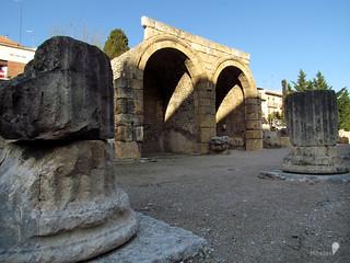 Columnas/Cúria-Aedes Augusti
