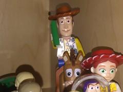 Ride Like The Wind, Bullseye! (splinky9000) Tags: kingston ontario toys lego minifigures disney pixar toy story sheriff woody bullseye horse dollar jessie cowgirl