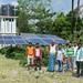 AKRSP-supported solar powered irrigation and drinking water scheme, Muzaffarpur, Bihar.