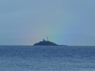 Rainbow over Godrevy