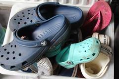 Footwear (daveandlyn1) Tags: footwear crocs box iii f3556 efs1855mm 1200d eos canon oddoneoutflipflop