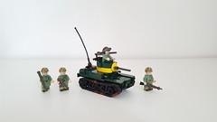 M3 Stuart Light Tank (Project Azazel) Tags: m3 stuartlighttank m3stuart lego brickarms projectazazellego custom customlego ww2 ww2lego legomilitary legotank customlegotank legom3stuartlighttank m3stuartlighttank usmclego thepacificwar