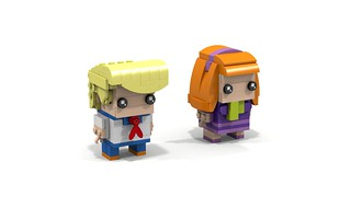 Brickheadz Scooby-Doo Pair 3