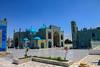 Mazar-e Sharif, Afghanistan (felixkolbitz) Tags: afghanistan mazare sharif balkh blue mosque