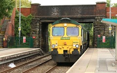 66551 Gwysylt (kitmasterbloke) Tags: wrexham shropshire train railway locomotive transport uk outdoor