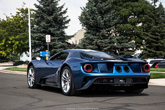 Celebrity (Hunter J. G. Frim Photography) Tags: supercar colorado 2017 ford gt blue miller famous celebrity v6 american turbo race carbon new luxury 2017fordgt fordgt striped ecoboost twinturbo