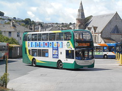 Stagecoach South West 15861 (Welsh Bus 18) Tags: stagecoach southwest scania n230ud enviro400 15861 wa62akv paignton