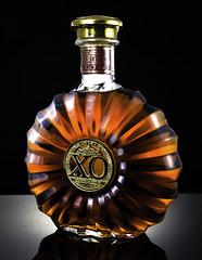 Remy Martin XO (~trigger_happy~) Tags: remy xo martin studio low key glass reflective black background