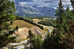 Trans Canada Highway Viewpoint (Banff National Park)