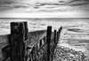 Isle of Wight Coastal Path Totland Bay (D.T.Morris) Tags: walk hiking coastal path isle wight cliff sea totland bay groines groins black white monochrome david morris dtmphotography walking hike coast