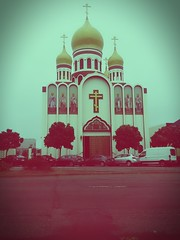 (sftrajan) Tags: russianorthodoxchurch architecture filter gearyboulevard sanfrancisco orthodox domes therichmond
