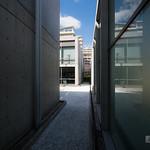 Courtyard of Nishinomiya Shell Museum (西宮市貝類館)