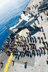 170811-N-AC254-115 (U.S. Pacific Fleet) Tags: ussamerica sailors lha6 amphibiousassaultship marines 15thmeu marinesexpeditionaryunit firehouse maintenance southchinasea