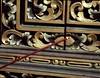Inhaling Bali (scinta1) Tags: bali kintamani kedisan kampung village baturbaguscottages kamar jandela window carving traditional painted incense dupa