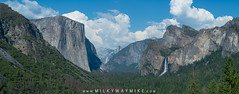 Tunnel View Panorama (Mike Ver Sprill - Milky Way Mike) Tags: tunnel view yosemite california cali valley mountains half dome el capiton nikon d800 mike ver sprill landscape nature