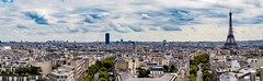 Keep calm and go to Paris... (Ula P) Tags: paris france panorama wideangle eiffel tower sony
