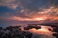 Au Bout du Monde (Dominique Richeux Photography) Tags: sunset sunrise soleil ciel nuages sky clouds landscape seascape cloudscape reflection reflet mer sea ocean mediterranean autofocus antibes cap