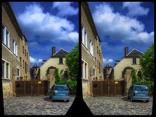 Reichenbach, Kolpingstraße 3-D / CrossEye / Stereoscopy / HDR / Raw