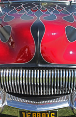 Grille (skipmoore) Tags: beniciaclassiccarshow flames grille chrome
