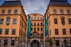 Royal Coin Cabinet Museum on Slottsbacken - Castle Slope - Stockholm Sweden