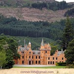 Aldourie Castle on Loch Ness-side Inverness Scotland thumbnail