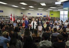 _MG_8505 Premier Kathleen Wynne visited Lawrence Park High School. (Ontario Liberal Caucus) Tags: school highschool colle hunter education students eglingtonlawrence toronto