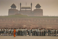 Red Fort, Delhi (Valdas Photo Trip) Tags: india delhi fort travelphotography streetphotography