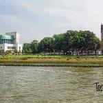 Ventilation building Maastunnel, Charlois, Rotterdam, Netherlands - 5253 thumbnail