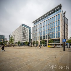 Peters Square - 231 manchester, and salford architecture by mcfade-Pano (ade_mcfade) Tags: leeds yorkshire west photographer mcfade ade wilson canon architecture buildings deansgate irwell manchester salford townhall