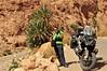 on the road (Mario Barzionni) Tags: morocco marocco trip motor motorbike bmw r1200gs sun summer sole caldo hot estate desert deserto viaggio atlas mountains montagne atlante valley gorges todra
