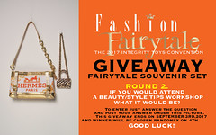GIVEAWAY!!! (Culte De Paris) Tags: giveaway tote bag hermes set brand designer miniature dolls toys fr fashion royalty agnes at fairytale exclusive souvenir table gift favors handmade gold accessory jewelry it integrity culte de paris julia leroy jason wu haute couture fashionista