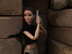 Cuts & Grazes (MaxxieJames) Tags: total conquest vittoria belmonte claude action movie man barbie doll mattel collector made move teresa brunette film dravin